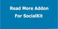 More read socialkit for addon