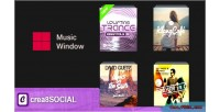 Music crea8social plugin