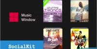 Music socialkit plugin