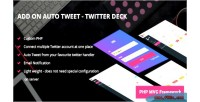 On add auto deck twitter tweet