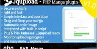 Plugin jqupload manga php for