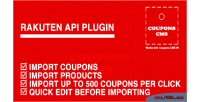 Plugin rakuten cms coupons for