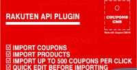 Plugin rakuten cms coupons for