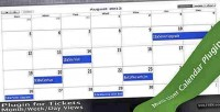 Plugin tickets calendar