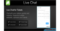 Plugin tickets live chat