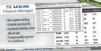 Plugin ucm finance manager