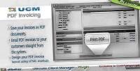 Plugin ucm pdf invoicing