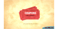 Plugins coupons hellovideo for