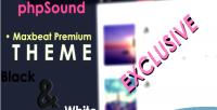 Premium maxbeat phpsound for theme