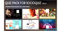 Quiz 20 pack 5 for vol socioquiz