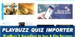 Quiz playbuzz importer script socioquiz for