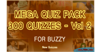 Quizzes 300 mega pack for buzzy 2 vol introductory price off 50