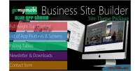 S site theme package showcase app blue s