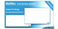 S3 amazon integration ema mailwizz for