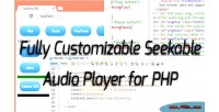 Seeakable streamable php audio html5 for player