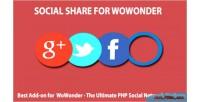 Share social for wowonder