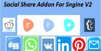 Share social sngine for addon