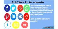 Share social wowonder for pro