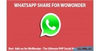 Share whatsapp for wowonder