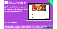 Shortener url crea8social for addon