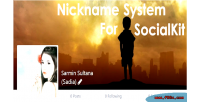 System nickname like socialkit for facebook