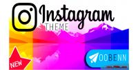 Theme instagram oobenn