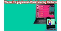 Themes phpsound platform sharing music