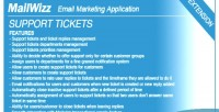 Tickets support system ema mailwizz for
