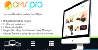 Timeline universal module pro cms for