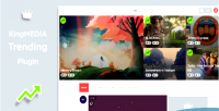 Trending kingmedia plugin