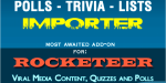 Trivia polls list rocketeer for importer