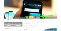 Type verified socialkit for user