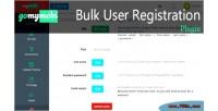User bulk registration gomymobibsb for plugin