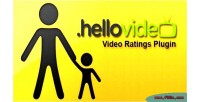Video hellovideo ratings plugin