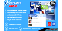 Video vidplanet on add portal
