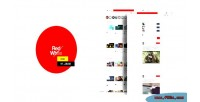 Videotube redwhitetube video theme phpscript cms