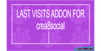 Visits last crea8social for addon