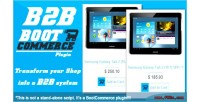 Wholesale b2b reseller bootcommerce for plugin