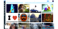 Yosemite kingmedia theme