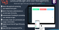 Advanced laraguard login user & system management