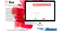 An box online application storage cloud
