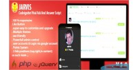 Ask jarvis answer site sharing script