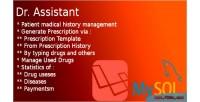 Assistant dr patient & management prescription laravel in system