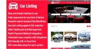 Auto carlisting & car multi listing cms directory vendor