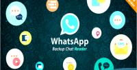 Backup whatsapp chat reader