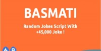 Basmati random jokes script with 45 jokes 000