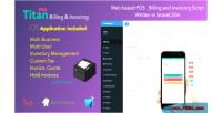 Billing titan & invoicing php pos app ios script