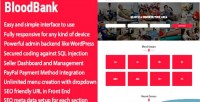 Blood bloodbank donor cms directory integration paypal with