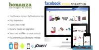 Bonanza facebook store application