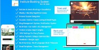 Booking institute system booking batches events